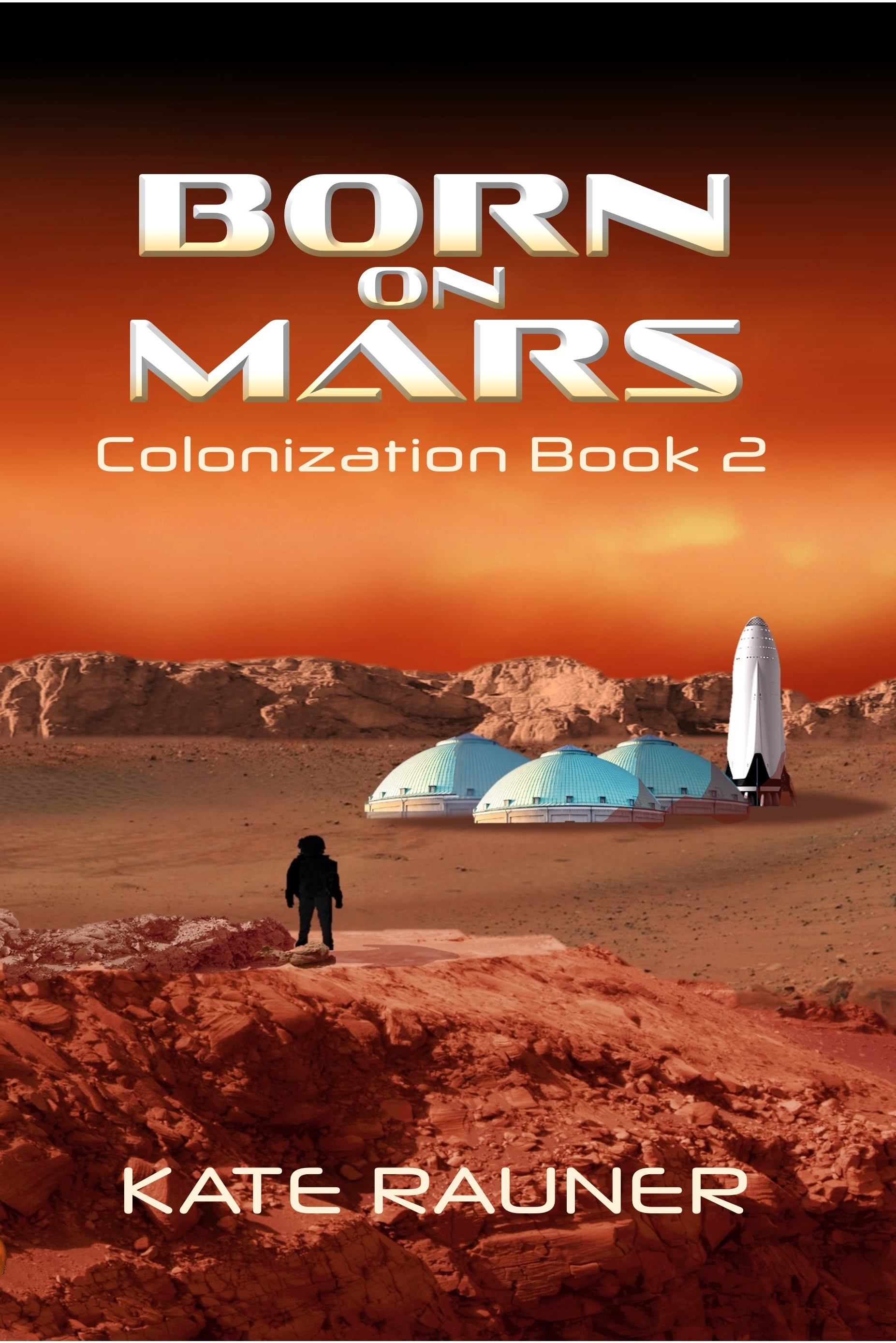 Born on Mars book cover