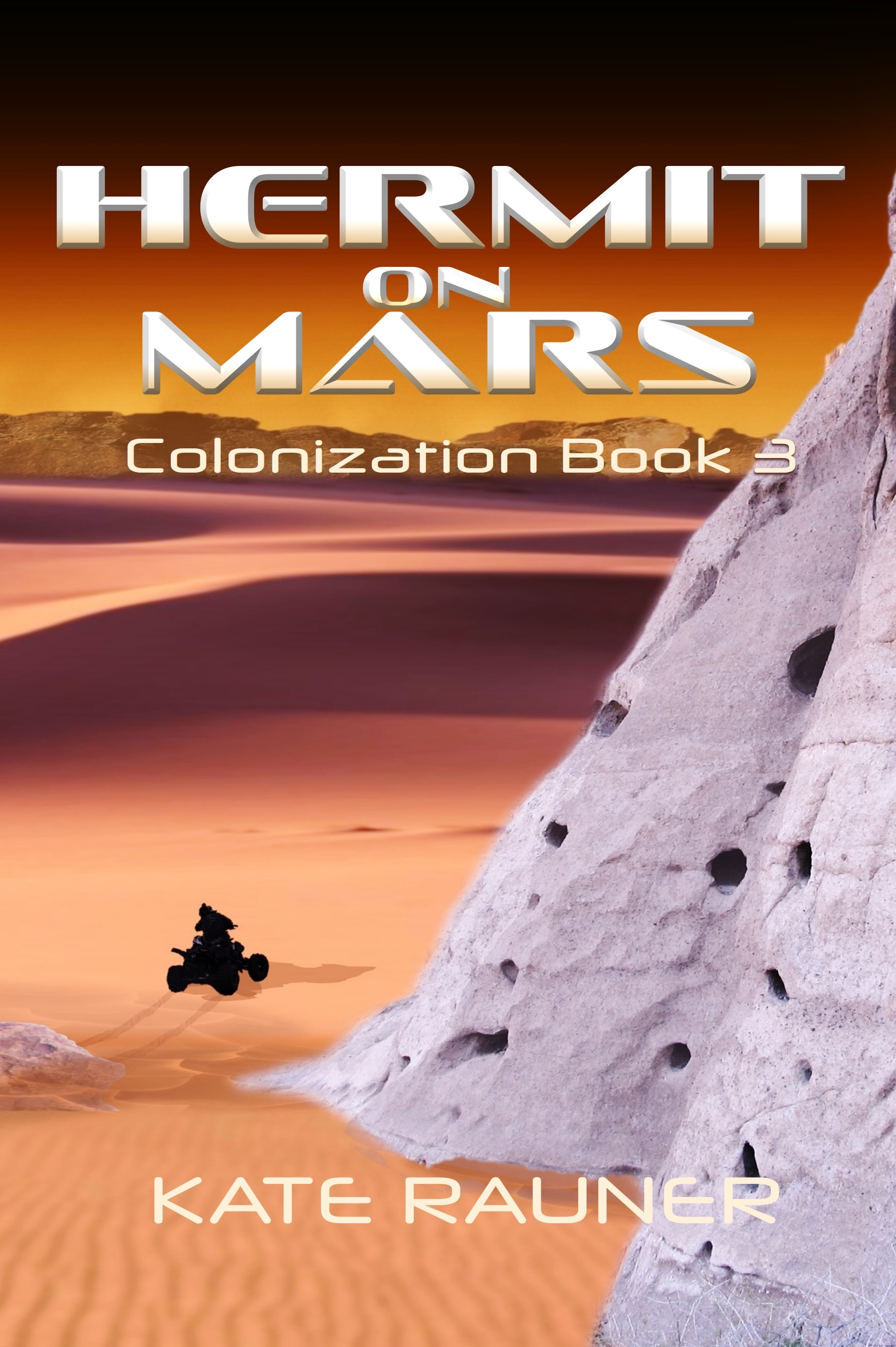 Hermit on Mars book cover