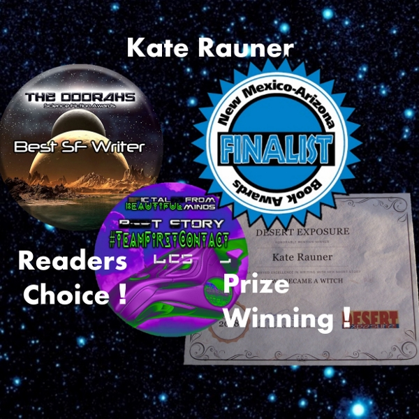 Awards to Kate Rauner scifi author